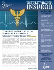 Volume 21, Issue 20 - Independent Insurance Agent