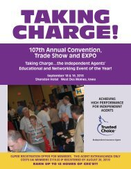 Convention Brochure - Independent Insurance Agents of Iowa, Inc.