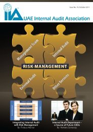 Integrating Internal Audit with Risk Management By ... - UAE IAA