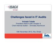 Challenges faced in IT Audits Avinash Totade
