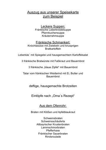 Hier - Gasthof, Metzgerei, Pension Burghardt