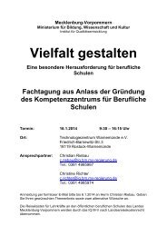 BS-Kompetenzzentrum_ Programm - Bildungsserver Mecklenburg ...