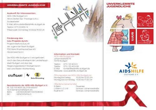 Unverklemmten Jugendlichen - AIDS-Hilfe Stuttgart eV