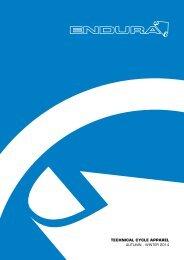 Endura: Technical Cycle Apparel AW2014
