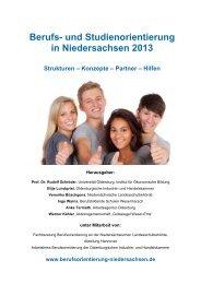 Berufs- und Studienorientierung in Niedersachsen 2013 - Institut für ...
