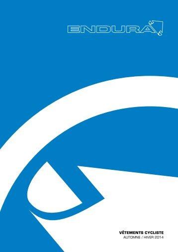 Endura: Vêtements Cycliste AW2014