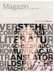 8. Jahrgang :: Juli 2013 (PDF) - Robert Bosch Stiftung