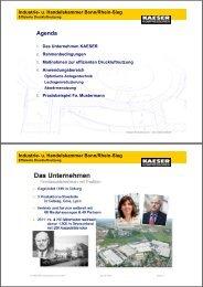 Effiziente Druckluftnutzung - IHK Bonn/Rhein-Sieg