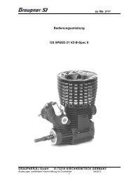 Propellermitnehmer für RC Rennboote Drive Dog Mitnehmer 4,75mm x 10mm Edelstahl