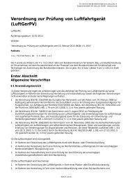 LuftGerPV - Gesetze im Internet