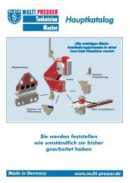 Made in Germany - blain hydraulics Gmbh