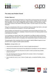 The study case Kraków Chanel
