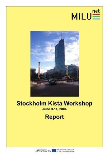 Stockholm Kista Workshop Report - Habiforum