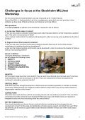 Stockholm Kista Workshop Report - Habiforum - Page 6
