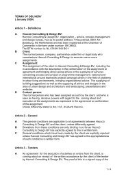 Article 1 – Definitions A Haccoû Consulting & Design BV - Iiinstitute.nl