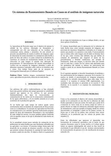Un sistema de Razonamiento Basado en Casos en el análisis de ...