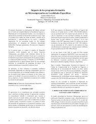Impacto de los programa formación en Microempresarios en ...