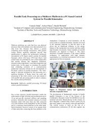 Design of a Double Linked Communication Architecture for ...