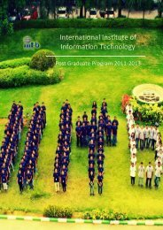 open/save the attached pdf file - International Institute of Information ...