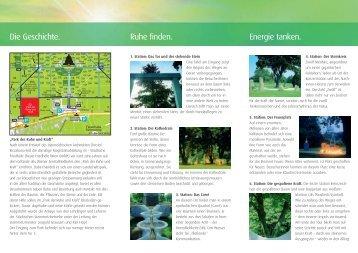 Park der Ruhe und Kraft am Wiener Zentralfriedhof - Friedhöfe Wien
