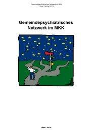 Gemeindepsychiatrisches Netzwerk - des Main-Kinzig-Kreises