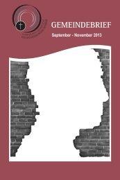November 2013 - auf den Seiten des Diakoniewerks im nördlichen ...
