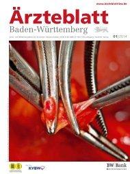 Aktuelle Ausgabe - Landesärztekammer Baden-Württemberg