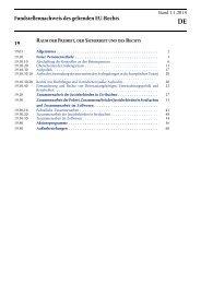 Fundstellennachweis des geltenden EU-Rechts - EUR-Lex