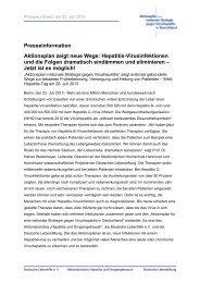 Beitrag Prof. Heiner Wedemeyer - Deutsche AIDS-Hilfe e.V.