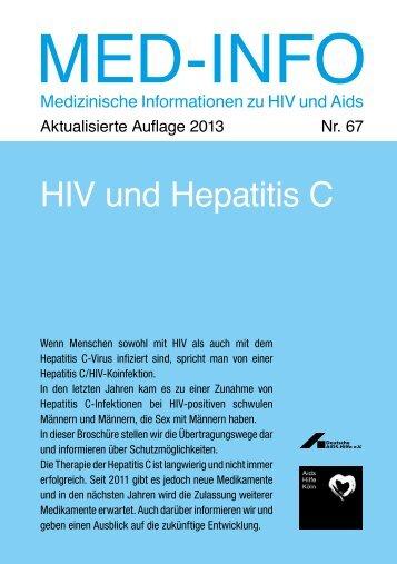 Nr. 67 | HIV und Hepatitis C | Neuauflage 2013 - Aidshilfe Köln