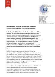 Download der Pressemitteilung - DGVS