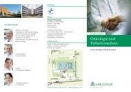 Onkologie und Palliativmedizin - Asklepios