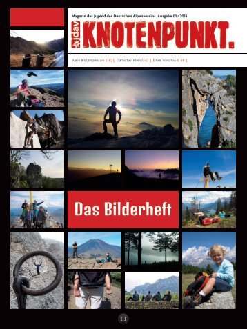 Das Bilderheft - Deutscher Alpenverein