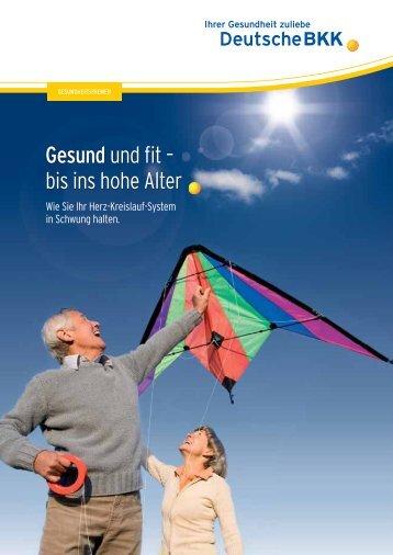 Herz- Kreislauf - Gesund und fit bis ins hohe Alter - Deutsche BKK