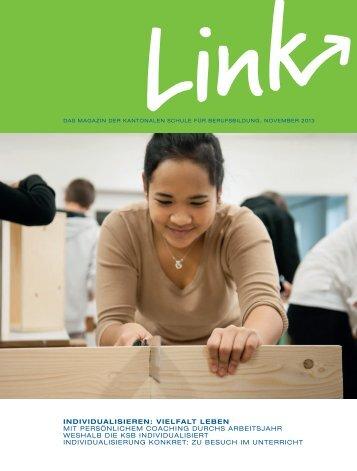 Ausgabe Nov. 2013 - Kantonale Schule für Berufsbildung