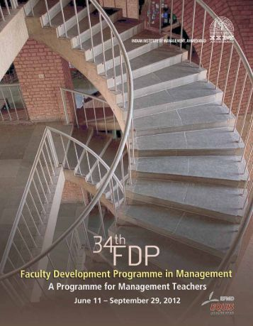 Brochure PDF - Indian Institute of Management, Ahmedabad