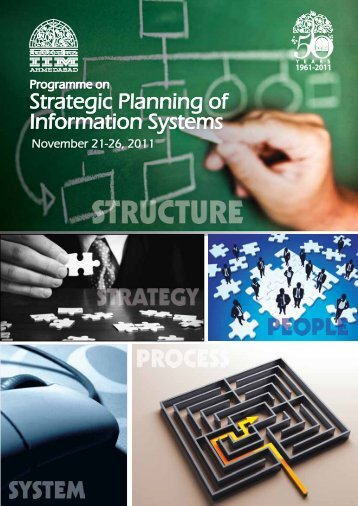 Strategic Planning of Information Systems - Indian Institute of ...