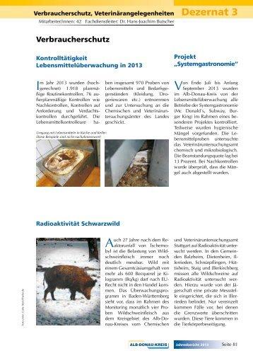 Verbraucherschutz - Alb-Donau-Kreis