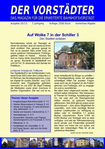 Ausgabe Oktober 2013 - Der Vorstädter