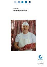 Leitfaden Fleischerhandwerk - QS Qualität und Sicherheit GmbH