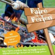 Faire Ferienfreizeiten 2013 - BDKJ Diözesanverband Paderborn