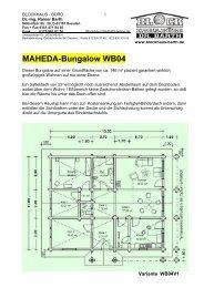 Maheda-Bungalow WB04 - Maheda Blockhaus
