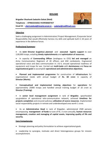 Google India Sample Resume Kresit Indian Institute Of