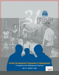 Faculty Development Programme in Management