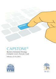 CAPSTONE® - Indian Institute of Management, Ahmedabad