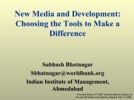 New Media and Development - Indian Institute of Management ...