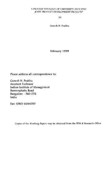 Download PDF - Indian Institute of Management Bangalore