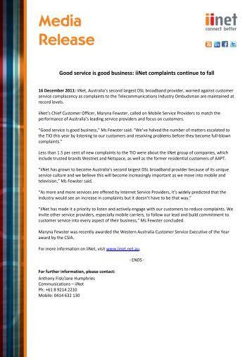 Iinet business plans