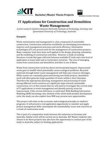 Phd construction management thesis published