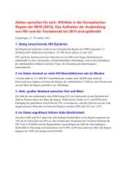 WAD Fact sheet (Ger) - WHO/Europe